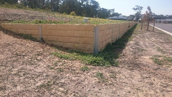 Concrete Sleepers Miller S Fencing And Retaining Walls